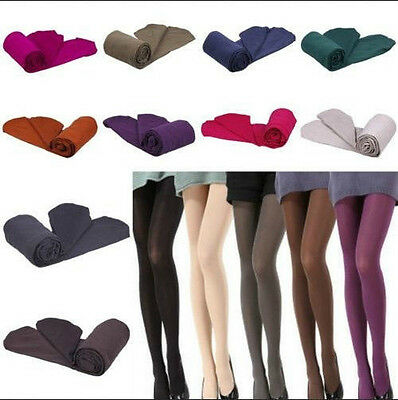 Women Thick Warm Winter Stockings Socks Stretch Tights Opaque Pantyhose bos