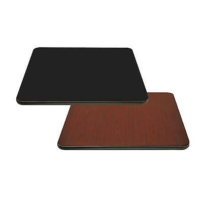 "BK Resources BK-LT1-BM-3024 30"" x 24"" Rectangular Reversible Laminate Table Top"