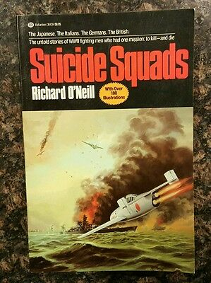 Suicide Squads World War II History Book by Richard O'Neill (1981, Paperback)