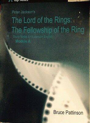 The Lord Of The Rings, Peter Jackson, Tolkien- Top Notes, Pb Book