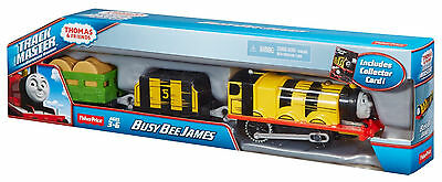 Fisher-Price Trackmaster THOMAS & FRIENDS Busy Bee James Motorized (Free Ship)