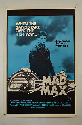 Mad Max 1979 (R82) One Sheet Movie Poster