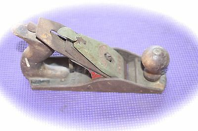 "Antique Vintage ""falcon"" Metal & Wood Hand Plane Planer"