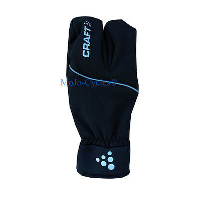 Craft Cross Country Active Split finger Lobster gloves  Size Large New