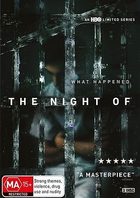 The Night Of (HBO SERIES, 3-Disc Set) NEW DVD
