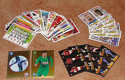 Fifa 365 French edition Lot of 61 stickers NEW (13 exclusive)