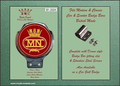Royale Scooter Car Bar Badge - THE BRITISH MERCHANT NAVY - B1.2024