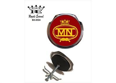 Royale Car Grill Badge & fittings - THE BRITISH MERCHANT NAVY - B2.2024