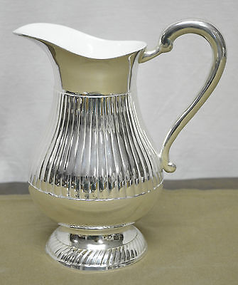 N9967 Bis N° Splendida Caraffa Uso Quotidiano In Argento Sheffield Collection