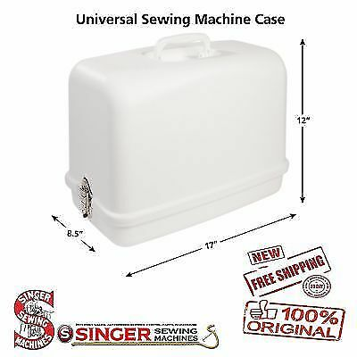 Universal Hard Carrying Case for Sewing Machines Singer Brother Janome Babylock