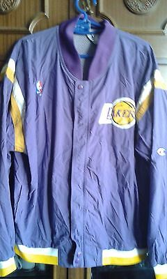 1990's LUXE NBA LAKERS Basket basquet chaqueta Retro L jacket camiseta shirt