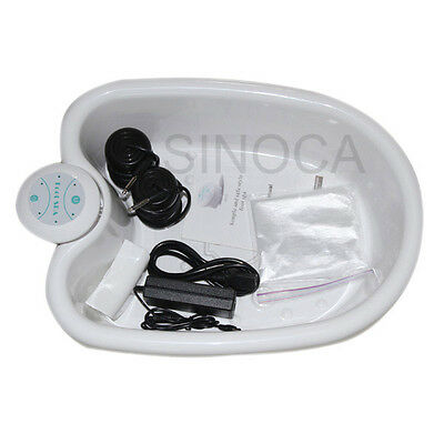 2017 ION IONIC DETOX FOOT Bath CLEANSE SPA WITH TUB