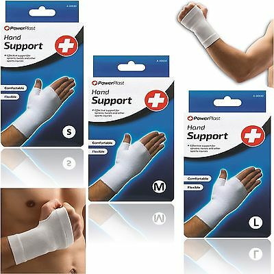 Powerplast Professional Knitted Hand Wrist Thick Quality Elastic Support Bandage
