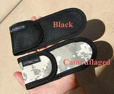 """New Nylon Sheath Hight Quality For Folding Pocket Knife up to 5.9"""" Pouch Case"""