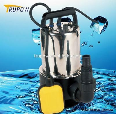 Turpow 1100w Universal Dirty/Clean Water Pump Submersible Automatic Electric