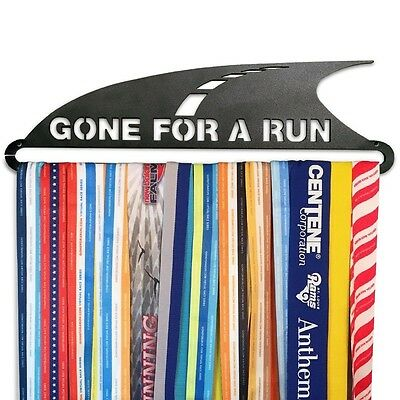 GoneForaRun GONE FOR A RUN Runner's Race Medal Hanger. Brand New