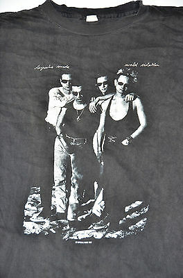 Depeche Mode Concert 1990 Tour Shirt World Violation US and Europe Cities