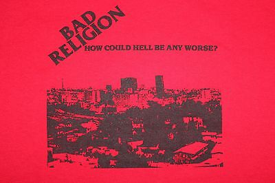 (RARE Never Worn) Tour Shirt~BAD RELIGION How Could Hell~epitaph nofx punk skate