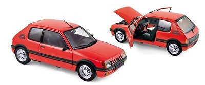 PEUGEOT 206 RC 2003 ROSSO 1:18 NOREV 184823 NUOVO /& OVP