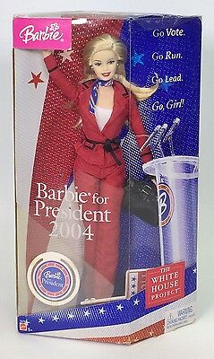Barbie For President 2004 The White House Project Nrfb