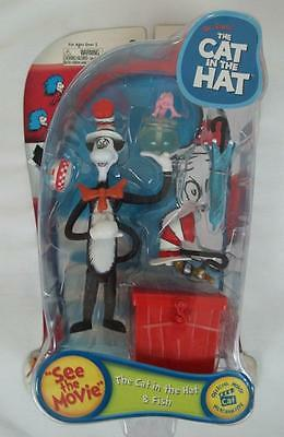 The Cat In The Hat Play Along Collectible Figure Dr Seuss New