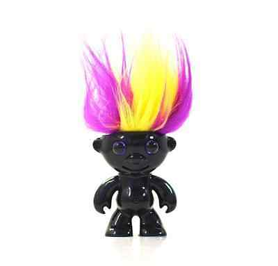 ElektroKidz -Shiny Black -Dancing Hair Toy by WowWee-Troll Doll NEW