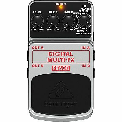Behringer FX600 Digital Multi FX Stereo Effects Pedal