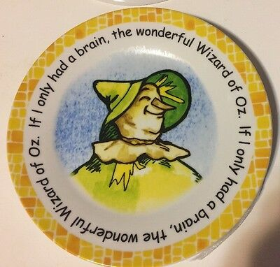 "Cardew Design WIZARD OF OZ ""The Scarecrow"" Dessert Pie Plate"