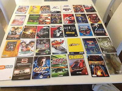 PS2 Instruction Books ONLY Playstation 2 Game Manuals x 35
