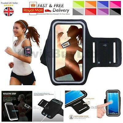 Gym Running Jogging Arm Band Sports Armband Case Strap For HTC Mobile