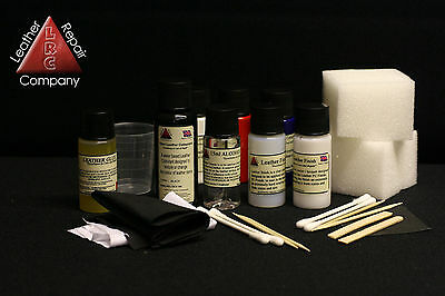 Leather Interior Car Seat Leather Repair Kit Tears Rips splits For Colour Repair