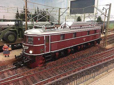 Kiss Spur 1 E-Lok E 19 12 DB rot digital Sound 245116 für Märklin KM1 OVP top