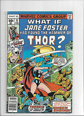 What If #10/Bronze Age Marvel Comic Book/1st Jane Foster as Thor/VF