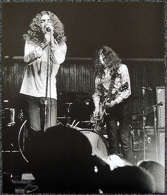 Led Zeppelin Poster Page Jimmy Page & Robert Plant . P4