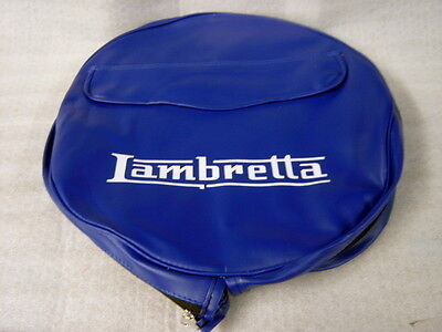 Lambretta Union Jack Blue Spare Wheel Cover With Pocket