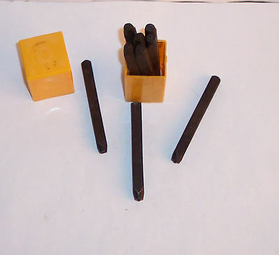 Number Punch Set – 9 pieces – number size 5mm- unused – useful model railway etc