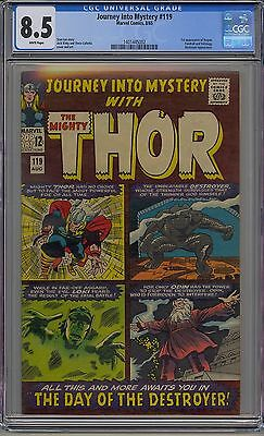 Journey Into Mystery #119 Cgc 8.5 White Pages Marvel
