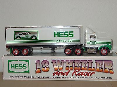 HESS 1992 Truck ~ 18 Wheeler and Racer ~ Toy