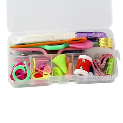 Knitting Tools Crochet Needle Accessories Supply With Case Box Knit Kit Set