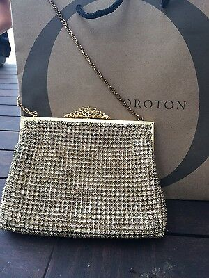 Vintage Oroton crystal ENCRUSTED clutch bag SUPER rare and COLLECTABLE.