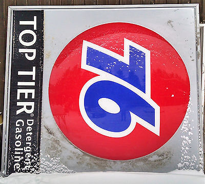 Union 76 Ball Sign, Large Freeway Sign 9' X 8'