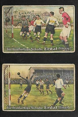 Germany-Old Soccer-Futbol-Football- Cards Lot-See Images !! Rrr 2