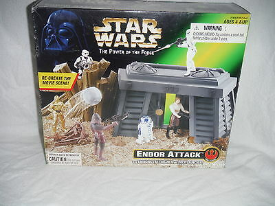 Star Wars Endor Attack Playset - New Factory Sealed