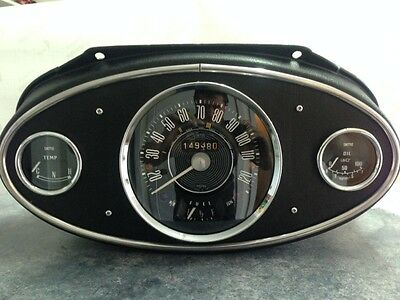 XMAS Special Morris Cooper S Mk1 120 MPH  Speedo,gauges & Dash Binicle (NEW)