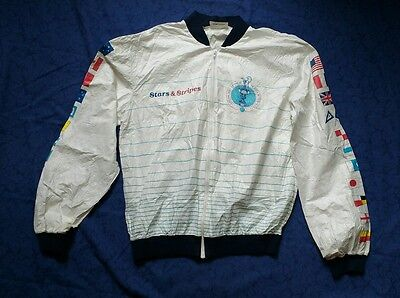America's Cup 1986-1987 Challenge Jacket - Perth Australia - Tyvek Promotional