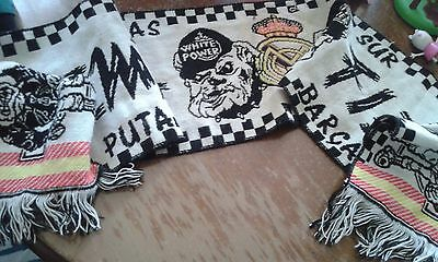 Skinhead Ultrasur Real Madrid Hooligan Ultra Bufanda futbol football scarf