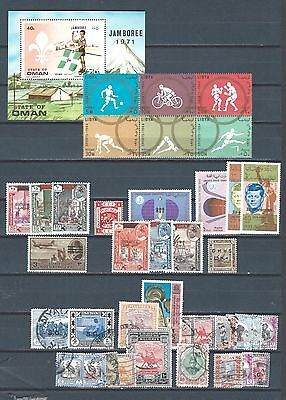 Middle East mnh mint and used stamps selection