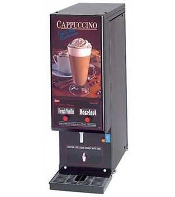 GMCW GB2CP Compact Cappuccino Hot Chocolate Dispenser 2 Flavors