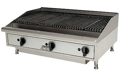 "Toastmaster TMRC24 Countertop 24"" Radiant Style Gas Charbroiler"