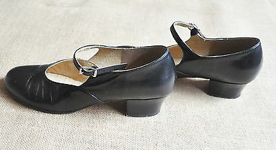 "Original Style - Brand New "" Bloch"" Leather Character Shoes Low Heel"